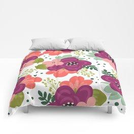 Blooming Florals Comforters