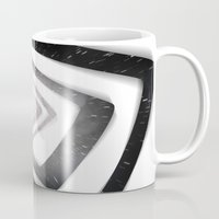 persona Mugs featuring Into the TV (Persona 4) by ASHPLUS
