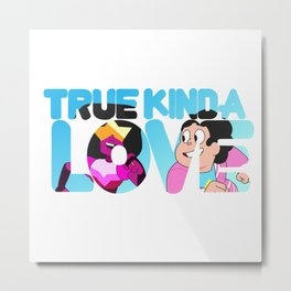 True Kinda Love - Steven & Garnet Metal Print