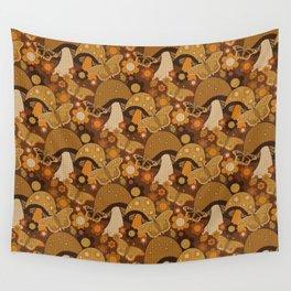 Mushroom Stitch Wall Tapestry