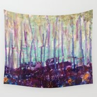 forrest Wall Tapestries featuring Candice Forrest by Stephanie Cole CREATIONS