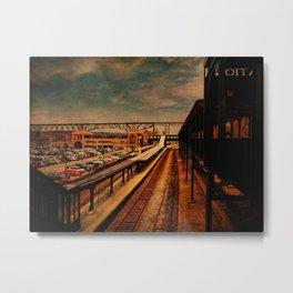 Poughkeepsie Train Station Metal Print