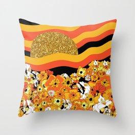 Mr. Sun Throw Pillow