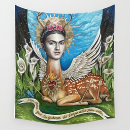 Wings to fly Wall Tapestry