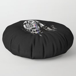 """""""Nearsighted Scrap Pile"""" Floor Pillow"""