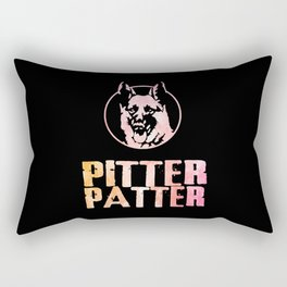 pitter patter letterkenny Rectangular Pillow
