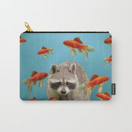 Goldfish Racoon Carry-All Pouch