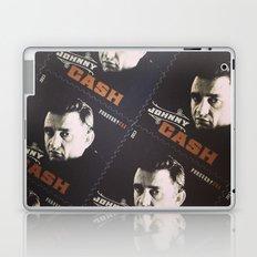 Johnny Cash Stamps Laptop & iPad Skin