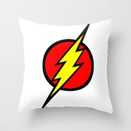 Flash Illustration Throw Pillow