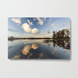 reflections on South Bay Metal Print