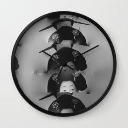 Dauphins Wall Clock