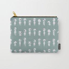 Ghibli Spirits - Kodama Mononoke pattern Carry-All Pouch