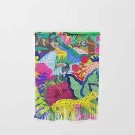 Jungle Party Animals Wall Hanging