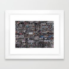 Parisian Neighbourhood Framed Art Print