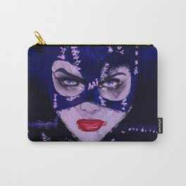 Catwoman Michelle Pfeiffer bat man Carry-All Pouch