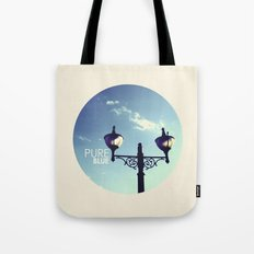 Pure Blue Tote Bag