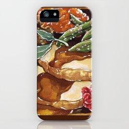 Turkey Dinner iPhone Case