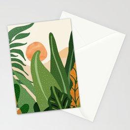 Desert Garden Sunset Stationery Cards