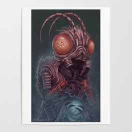 Insect Portrait Poster