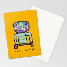 I want to pee! Stationery Cards