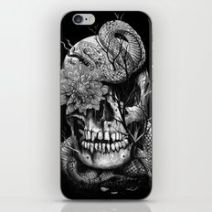 Snake and Skull iPhone Skin