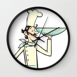 Chef cook Wall Clock