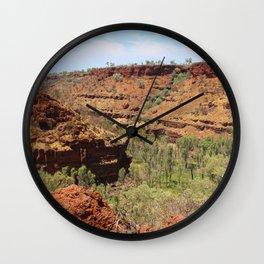 Gorge Karijini NP Wall Clock