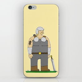 Ready For Battle iPhone Skin