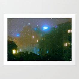 Nightcity Art Print