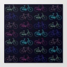 Vintage Bicycles Canvas Print