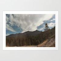 Mountainview Art Print