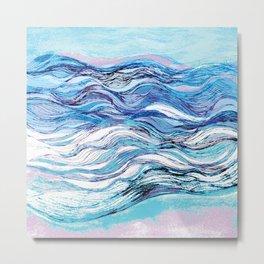 The ocean waves 2 Metal Print