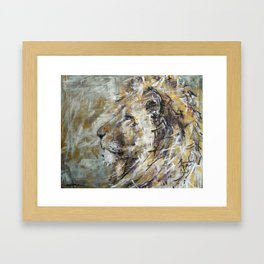 Weight of the World Framed Art Print