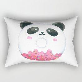 Panda Donut Art Work Rectangular Pillow