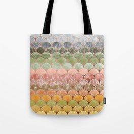 Watercolor art decó pattern Tote Bag