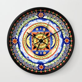 Celestial Lullaby Wall Clock