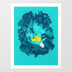 Undiscovered Wonder of the Sea Art Print