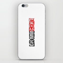 JOIN THE GRIMMCORE iPhone Skin