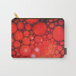 Blood Oil on Water Abstract Carry-All Pouch