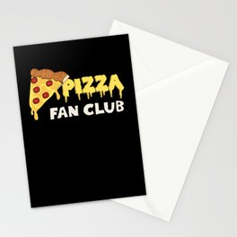 Pizza Fan Club Stationery Cards