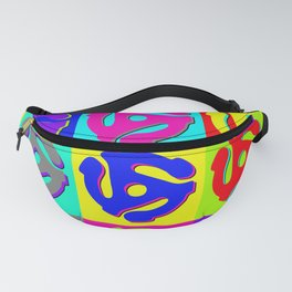Pop Art Retro Vinyl Collector Fanny Pack