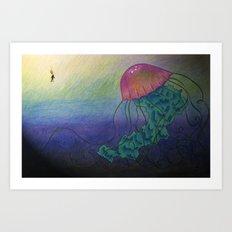 One Big Discovery Art Print