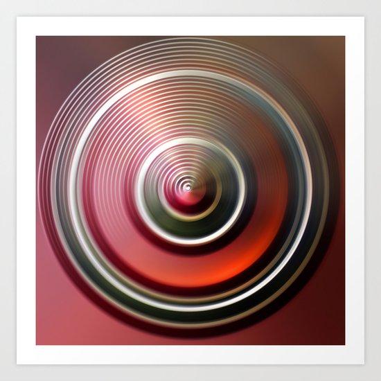 abstract07 Art Print