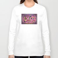 snoopy Long Sleeve T-shirts featuring Zombie peanuts charley brown and snoopy 1 by SkillitArt