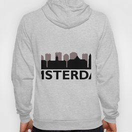 Amsterdam skyline Hoody