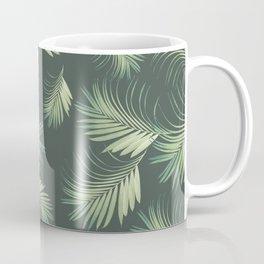 Tropical Palms Pattern #1 #tropical #decor #art #society6 Coffee Mug