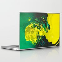 mad Laptop & iPad Skins featuring MAD SCIENCE! by BeastWreck