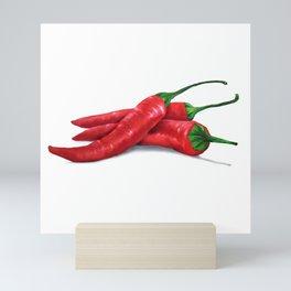 Chile de árbol (Tree Chili) Mini Art Print