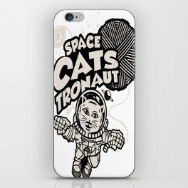 Catstronaut iPhone Skin