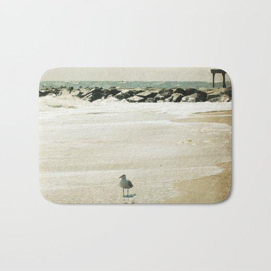 """Sea Dream"" Coastal Photography Bath Mat"